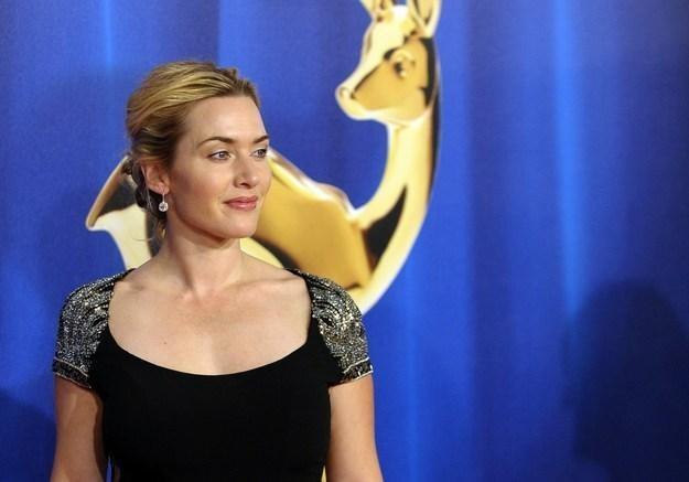 Kate Winslet i jej rodzinie nic się nie stało /AFP
