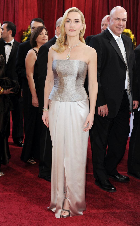 Kate Winslet w sukni Yves Saint Laurent'a  /Getty Images/Flash Press Media