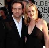 Kate Winslet z Samem Mendesem /INTERIA.PL