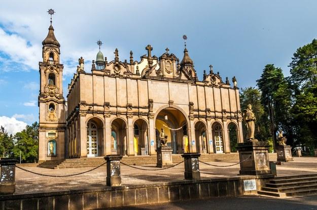 Katedra Świętej Trójcy w Addis Abebie /123/RF PICSEL