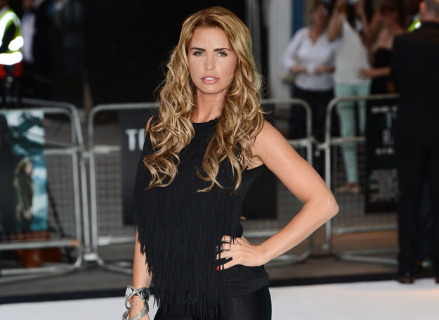 Katie Price /Getty Images