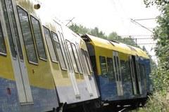 Katowice: Pociąg wypadł z torów
