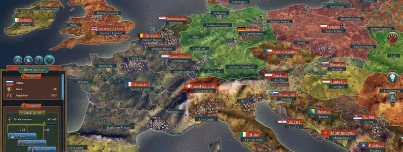 Katowicka firma dopiero co usunęła z mapy świata Polskę i Czechy, odnajdując legendarne państwo San Escobar, a już szykuje kolejne zmiany, które nadejdą wraz z kontynuacją gry Real Politiks /materiały prasowe
