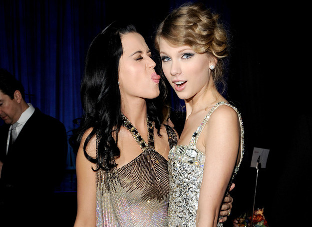 Katy Perry i Taylor Swift /Getty Images
