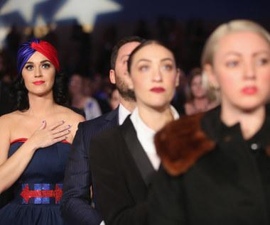 Katy Perry na wiecu w Iowa