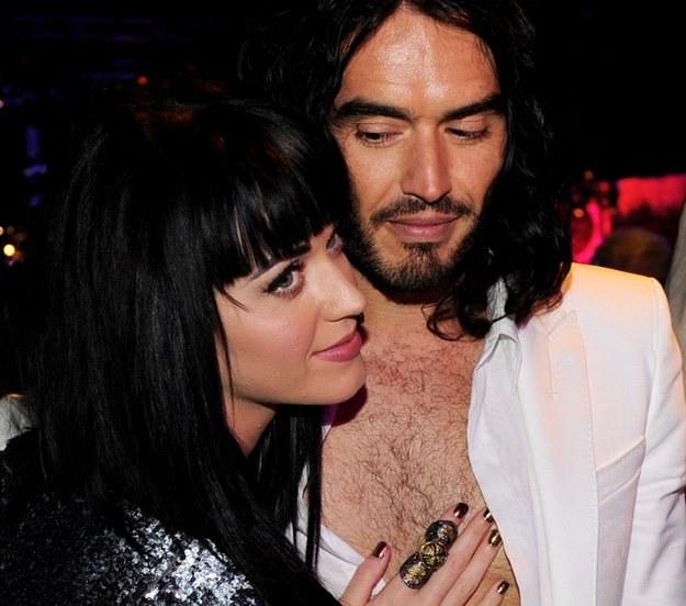 Katy Perry z narzeczonym - fot. Kevin Winter /Getty Images/Flash Press Media