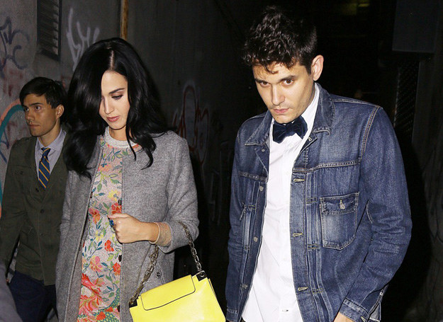 Katy spotyka się teraz z Johnem Mayerem /Getty Images