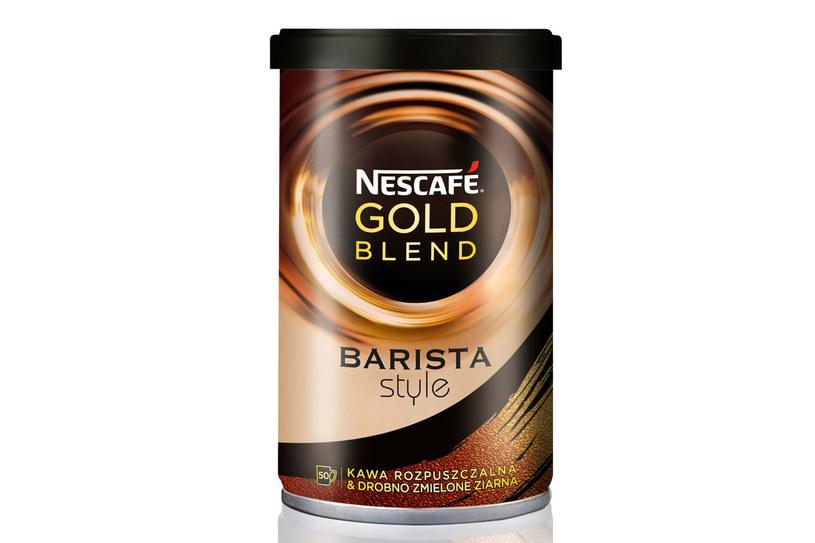 Kawa Nescafe Gold Blend Barista Style /materiały prasowe