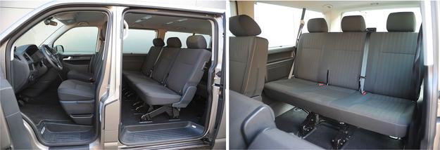Każda wersja Caravelle ma fotel kierowcy z regulacją wysokości. Miejsca jest pod dostatkiem praktycznie dla wszystkich pasażerów. /Motor