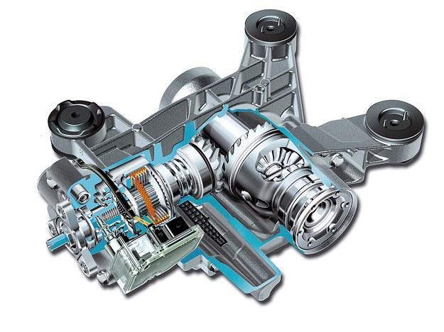 Każda z czterech generacji Haldexa wykorzystuje hydrauliczny ścisk sprzęgiełka wielotarczowego. /Volkswagen