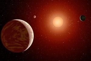 Każdy czerwony karzeł ma co najmniej jedną planetę