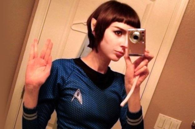 """Każdy fan """"Star Treka"""" znajdzie tu swoją drugą połówkę (Fot. Trekkie Dating) /Internet"""