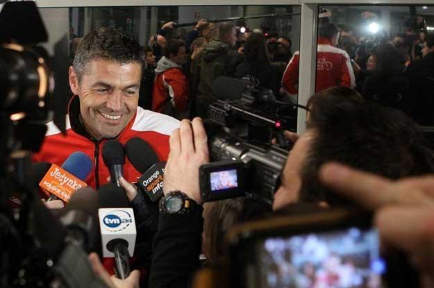 Każdy sportowiec marzy o takim przywitaniu - powiedział Krzysztof Hołowczyc /