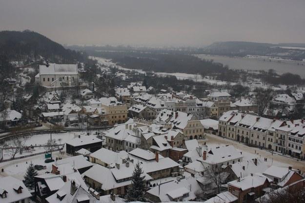Kazimierz Dolny w zimowej szacie /123/RF PICSEL