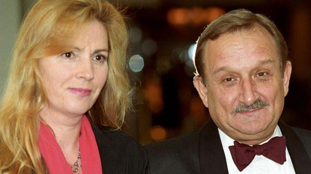 Kazimierz Kaczor z żoną. /Agencja W. Impact