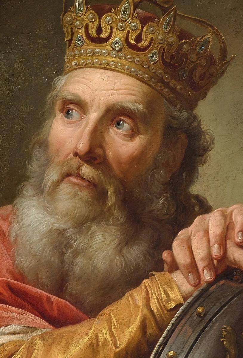 Kazimierz Wielki na obrazie pędzla M. Bacciarellego /Ciekawostki Historyczne