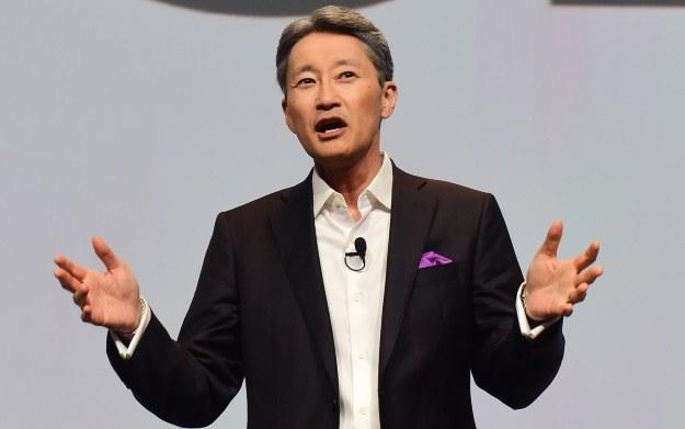 Kazuo Hirai - przemówienie na CES 2016 /AFP