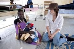 Keira Knightley Odwiedziła obóz uchodźców w Południowym Sudanie