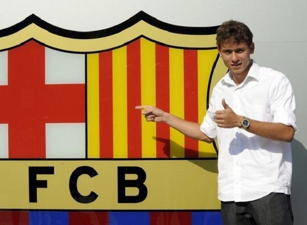 Keirrison jest przy Camp Nou od dwóch lat, lecz jeszcze nie zadebiutował w drużynie Barcelony /AFP