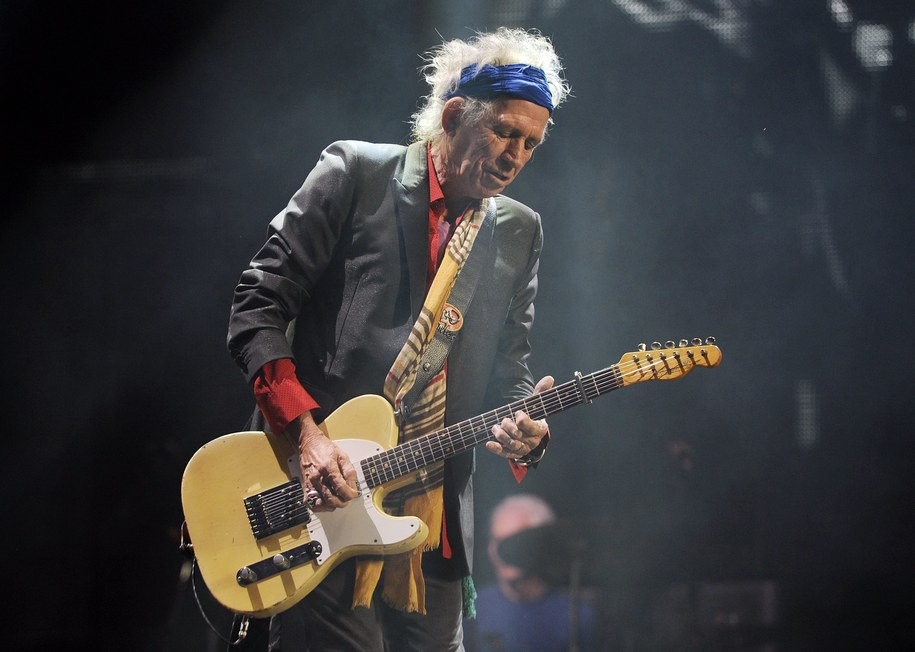 Keith Richards /PAP/EPA/FACUNDO ARRIZABALAGA /