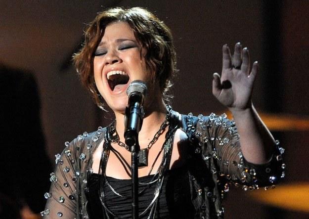 """Kelly Clarkson: """"Papierosy? Nie, dziękuję"""" fot. Kevork Djansezian /Getty Images/Flash Press Media"""
