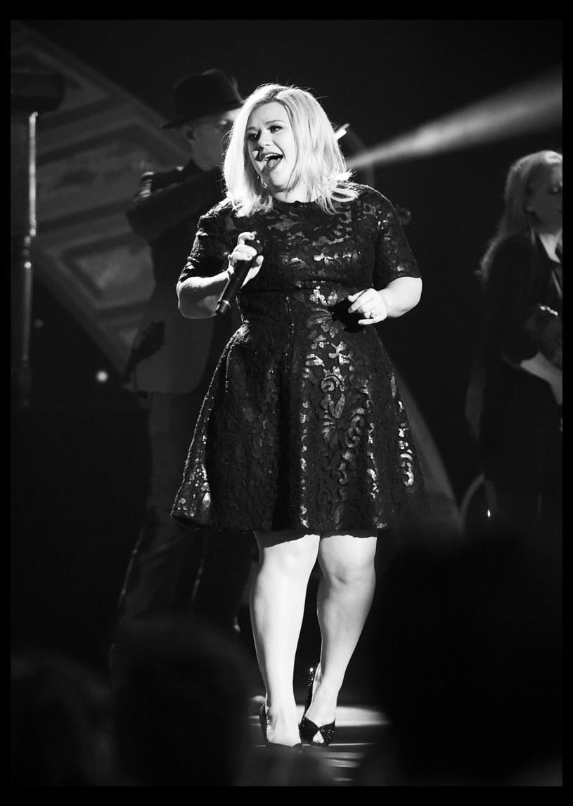 Kelly podczas występu /Getty Images
