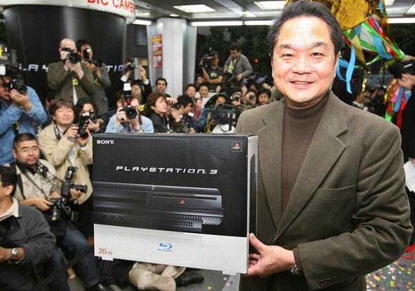 Ken Kutaragi z konsolą PlayStation 3 PlayStation /materiały prasowe