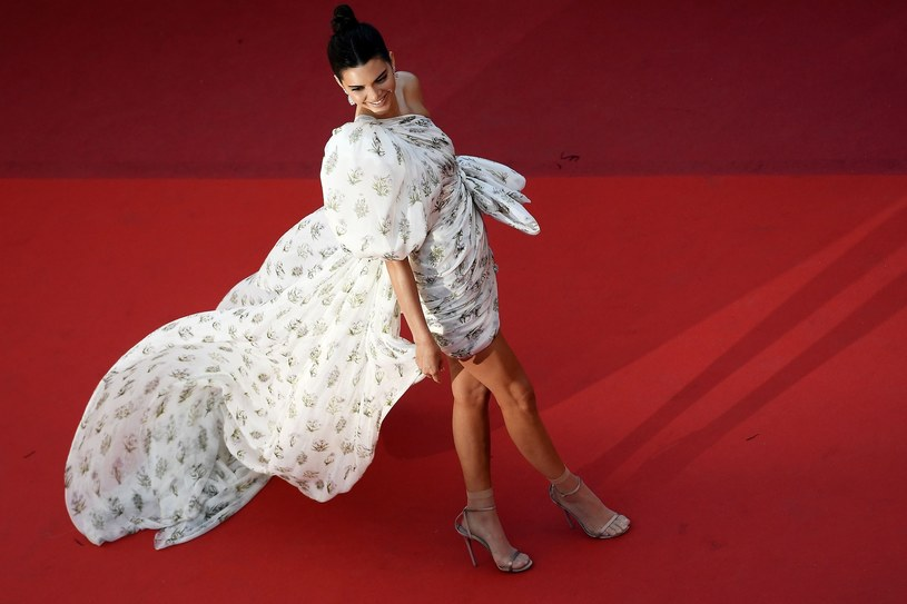 Kendall Jenner podczas festiwalu w Cannes /East News
