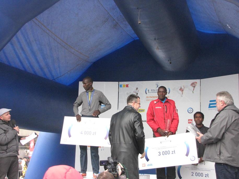 Kenijczycy opanowali krakowski półmaraton /Jacek Skóra /RMF FM