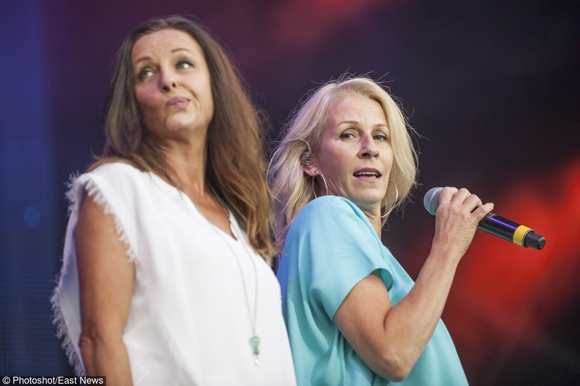 Keren Woodward i Sara Dallin (Bananarama) w 2015 r. /Photoshot    /Reporter