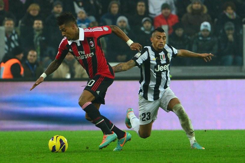 Kevin-Prince Boateng w meczu z Juventusem Turyn /AFP