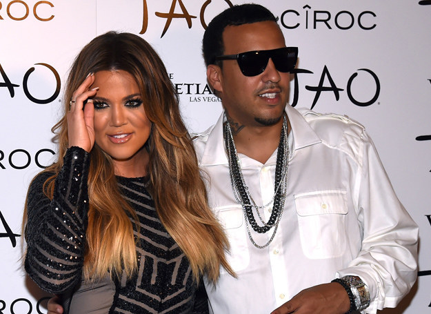Khloe Kardashian i French Montana - jeszcze jako para /Getty Images