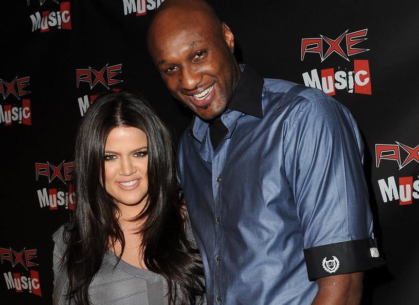 Khloe Kardashian i Lamar Odom jeszcze razem /Getty Images
