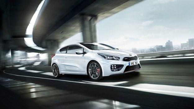 Kia pro_cee'd GT zadebiutowała podczas salonu samochodowego w Genewie. /Kia