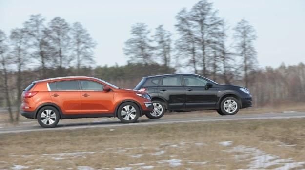 Kia wygląda zdecydowanie nowocześniej niż Nissan. I nie ma w tym nic dziwnego, bo dzielą je aż 4 lata. /Motor