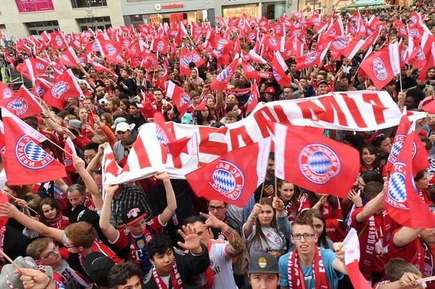 Kibice Bayernu /AFP