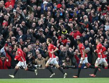 Kibice Manchesteru United schowali się w toalecie na Old Trafford