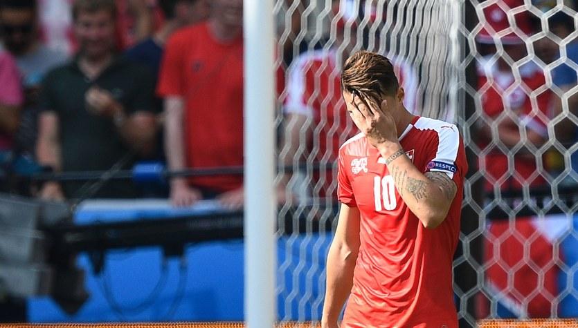 Kibice nie czekali na Szwajcarów po porażce z Polską na Euro 2016