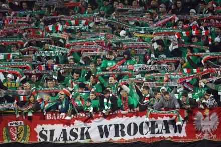 Kibice Śląska mogą niebawem mieć wiele powodów do świętowania. Fot. Sebastian Borowski. /Agencja Przegląd Sportowy