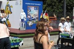 Kibice szykują się do wielkiego meczu Niemcy-Francja