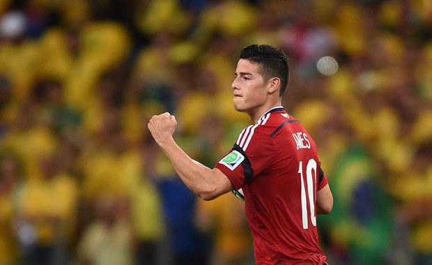 Kibice wybrali: Gol Jamesa Rodrigueza najładniejszym na mundialu