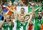Kibice z Irlandii robią furorę na Euro 2016