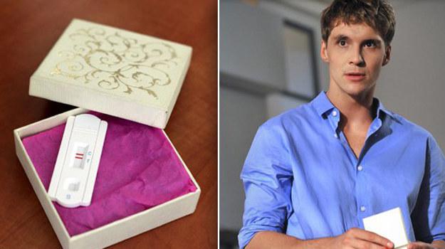 Kiedy Marcin otworzy pudełko - będzie w szoku! /www.mjakmilosc.tvp.pl/