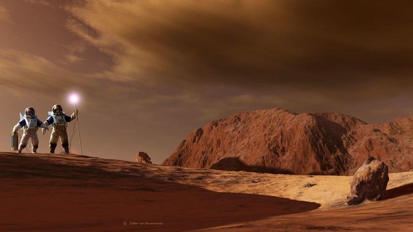 Kiedy w końcu polecimy na Marsa? /materiały prasowe