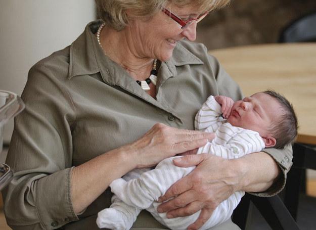 Kiedy wnuczek przyszedł na świat, byłam zachwycona /123RF/PICSEL