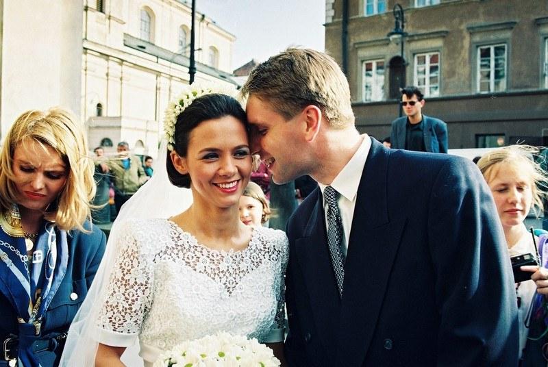 Kiedyś były przyjaciółkami. Hanna Smonkutunowicz była świadkiem na ślubie Kingi i Tomasza  /Zenon Zyburtowicz /East News