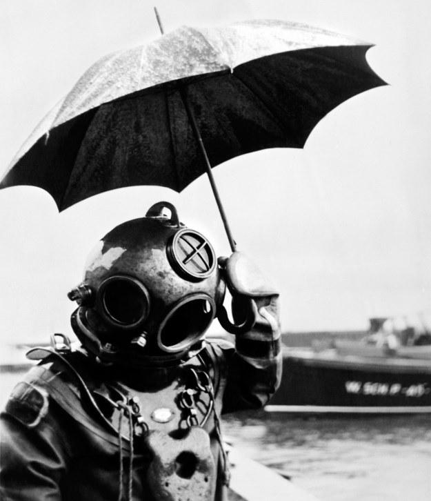 Kiedyś zejścia na duże głębokości były prawdziwym wyzwaniem. Dzisiaj może zrobić to każdy /AFP