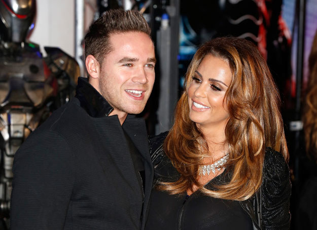 Kieran Hayler i Katie Price /Getty Images