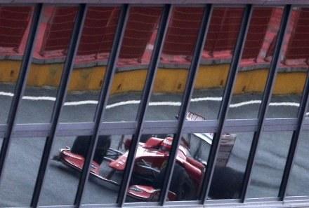 Kierowca Ferrari Kimi Raikkonen /AFP