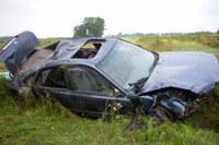 Kierowca hondy accord stracił  panowanie nad pojazdem /Policja
